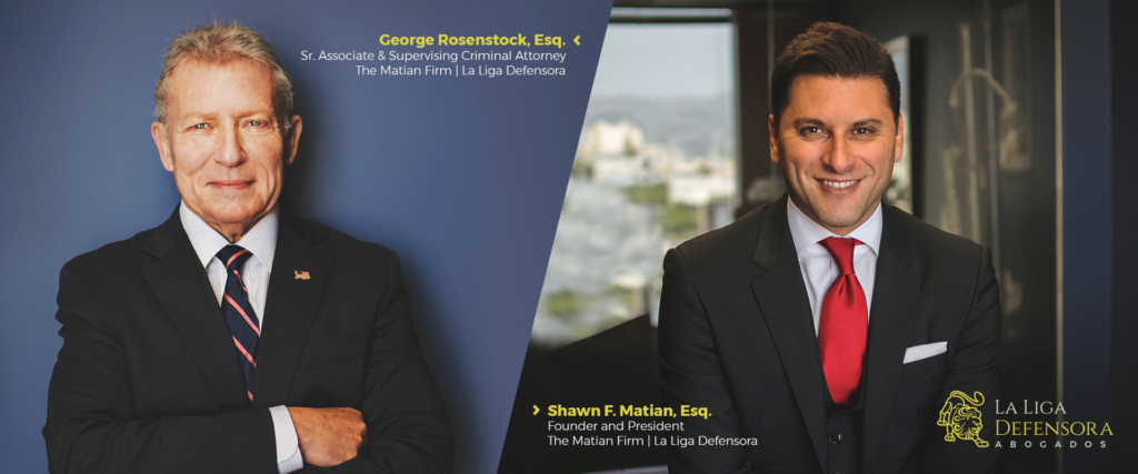 George Rosenstock Published In California Professional Journal and The Los Angeles & San Francisco Daily Legal Journal