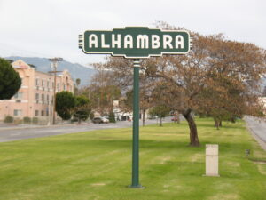 city of Alhambra